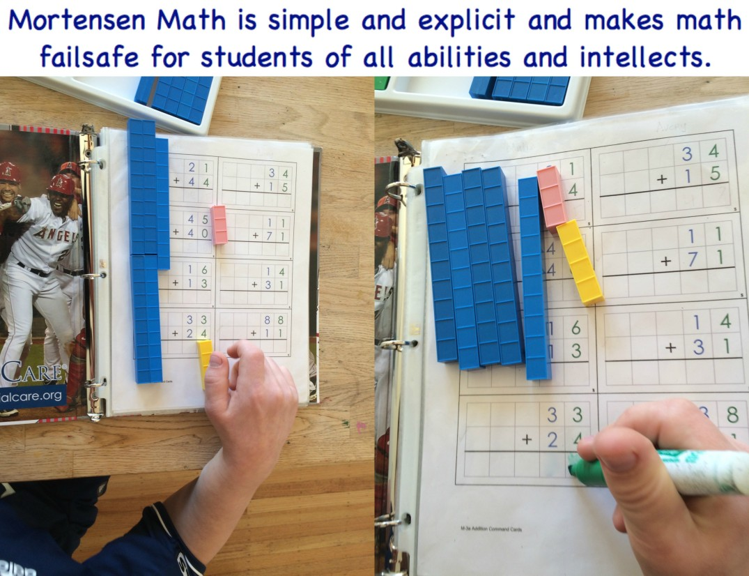Mortensen Math is simple and explicit